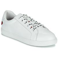 Zapatos Mujer Zapatillas bajas Bons baisers de Paname SIMONE IN LOVE LACETS Blanco