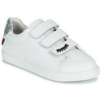 Zapatos Mujer Zapatillas bajas Bons baisers de Paname EDITH EYES Blanco