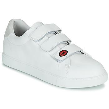 Zapatos Mujer Zapatillas bajas Bons baisers de Paname EDITH LEGENDE Blanco