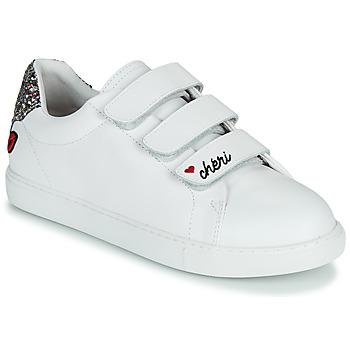 Zapatos Mujer Zapatillas bajas Bons baisers de Paname EDITH CHERI Blanco