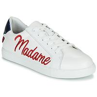 Zapatos Mujer Zapatillas bajas Bons baisers de Paname SIMONE MADAME MONSIEUR Blanco