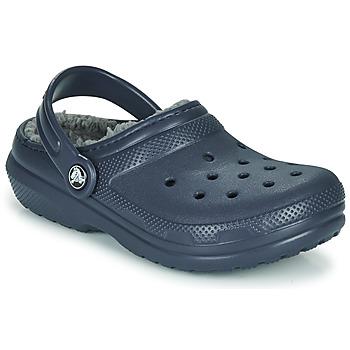 Zapatos Niño Zuecos (Clogs) Crocs CLASSIC LINED CLOG K Azul