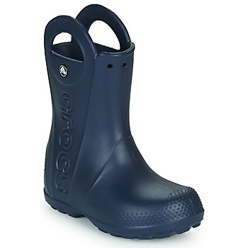 Zapatos Niños Botas de agua Crocs HANDLE IT RAIN BOOT Navy
