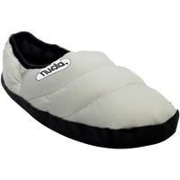 Zapatos Pantuflas Nuvola. Zapatilla de estar por casa NUVOLA®,Clasica Suela de Tela Grey