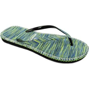 Zapatos Mujer Chanclas Brasileras Hip Marbled Green
