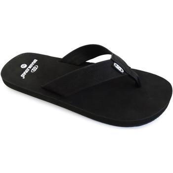 Zapatos Hombre Chanclas Brasileras Velvet Black