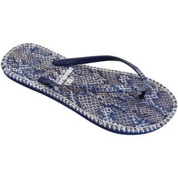 Zapatos Mujer Chanclas Brasileras Hip Leo Blue