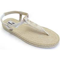 Zapatos Mujer Alpargatas Brasileras Spar 200 Beige