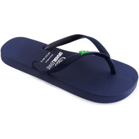 Zapatos Niños Chanclas Brasileras Chanclas de playa ®,Clasica Brasil NL KID Blue