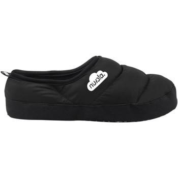Zapatos Pantuflas Nuvola. Zapatilla de estar por casa NUVOLA®,Clasica Suela de Tela Black