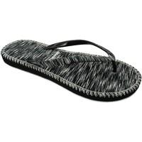 Zapatos Mujer Chanclas Brasileras Hip Marbled Black