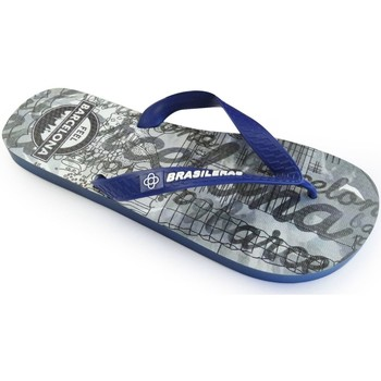Zapatos Mujer Chanclas Brasileras Feel BCN Park Grey