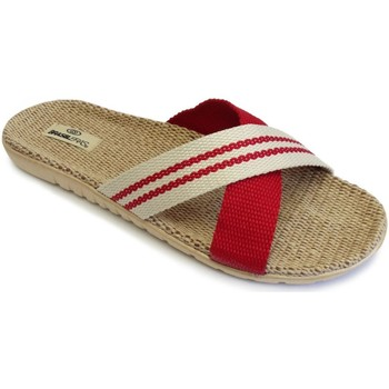 Zapatos Mujer Zuecos (Mules) Brasileras Tren Midi Red