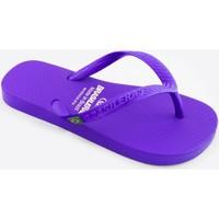 Zapatos Niños Chanclas Brasileras Clasica Brasil NL KID Purple