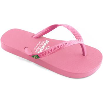 Zapatos Niña Chanclas Brasileras Clasica Brasil NL KID Pink