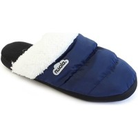 Zapatos Pantuflas Nuvola. Zapatilla de estar por casa NUVOLA®,Zueco Wolly Suela de Goma. Blue