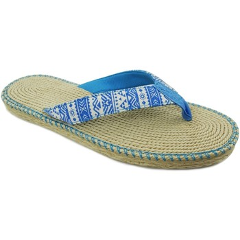 Zapatos Mujer Chanclas Brasileras Spar Etnia LT.Blue
