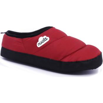 Zapatos Pantuflas Nuvola. Zapatillas de estar en casa Clasica Suela de Goma Red