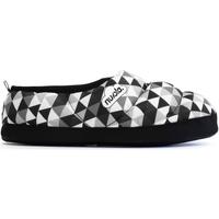Zapatos Pantuflas Nuvola. Zapatillas de estar en casa Geo Suela de Goma Grey