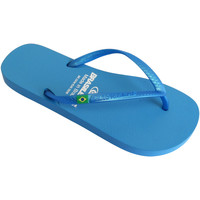 Zapatos Mujer Chanclas Brasileras Chanclas de playa ®, Classic Pearl W LT.Blue