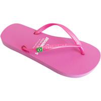 Zapatos Mujer Chanclas Brasileras Chanclas de playa ®, Classic Pearl W Pink