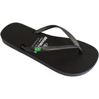 Zapatos Mujer Chanclas Brasileras Chanclas de playa ®, Classic Pearl W Black