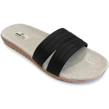 Zapatos Mujer Sandalias Brasileras Tren Pala Black