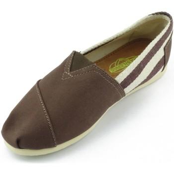 Zapatos Mujer Alpargatas Espargatas Late Brown