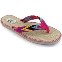 Zapatos Mujer Chanclas Brasileras Tren 100 Fuchsia