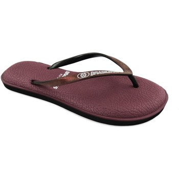 Zapatos Mujer Chanclas Brasileras Softy Garnet