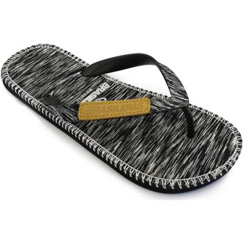 Zapatos Chanclas Brasileras Gin Marbled Black