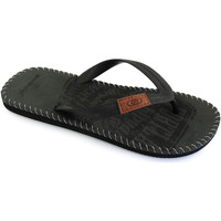 Zapatos Hombre Chanclas Brasileras Denim Black