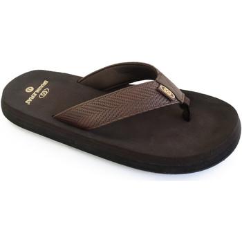 Zapatos Hombre Chanclas Brasileras Chancla ®, Puff Brown