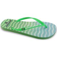 Zapatos Mujer Chanclas Brasileras Cosmic Green
