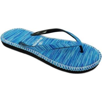 Zapatos Mujer Chanclas Brasileras Hip Marbled Blue