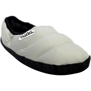 Zapatos Pantuflas Nuvola. Zapatilla de estar por casa NUVOLA®,Clasica Suela de Goma. Grey
