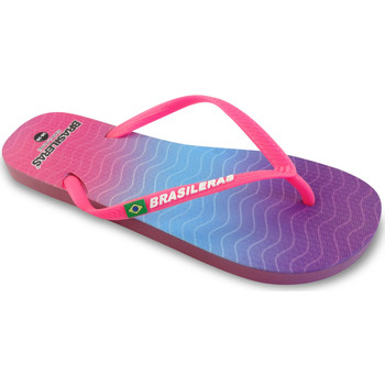 Zapatos Mujer Chanclas Brasileras Chanclas de playa ®, Cosmic Fuchsia