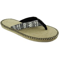 Zapatos Mujer Chanclas Brasileras Spar Etnia Black