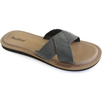 Zapatos Mujer Zuecos (Mules) Brasileras Loto Grey