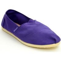 Zapatos Niños Alpargatas Brasileras Espargatas Clasica Purple