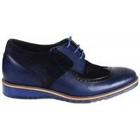 Zapatos Hombre Derbie Zerimar GABORONE Azul