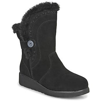 Zapatos Mujer Botas de caña baja Skechers KEEPSAKES WEDGE Negro