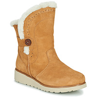 Zapatos Mujer Botas de caña baja Skechers KEEPSAKES WEDGE Camel