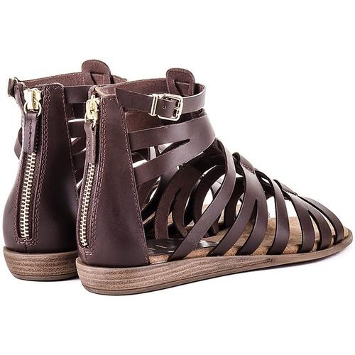 Casual salvaje Zapatos especiales Unisa Sandálias Amelia_OL Marrón - Zapatos Sandalias Mujer