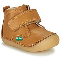 Zapatos Niños Botas de caña baja Kickers SABIO Camel