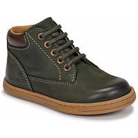 Zapatos Niño Botas de caña baja Kickers TACKLAND Kaki