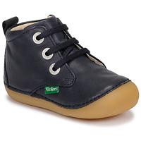 Zapatos Niños Botas de caña baja Kickers SONIZA Marino