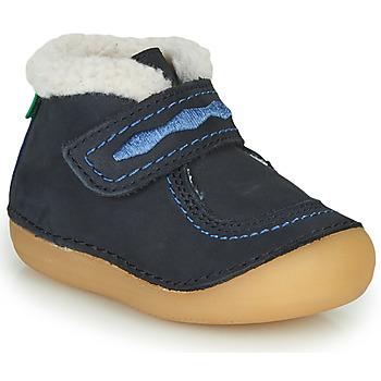 Zapatos Niña Botas de caña baja Kickers SOETNIC Marino