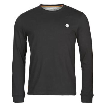 textil Hombre Camisetas manga larga Timberland LS Dunstan River Tee Negro
