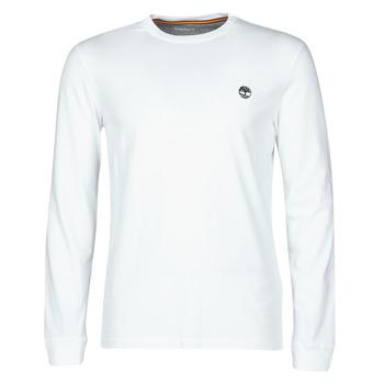 textil Hombre Camisetas manga larga Timberland LS Dunstan River Tee Blanco